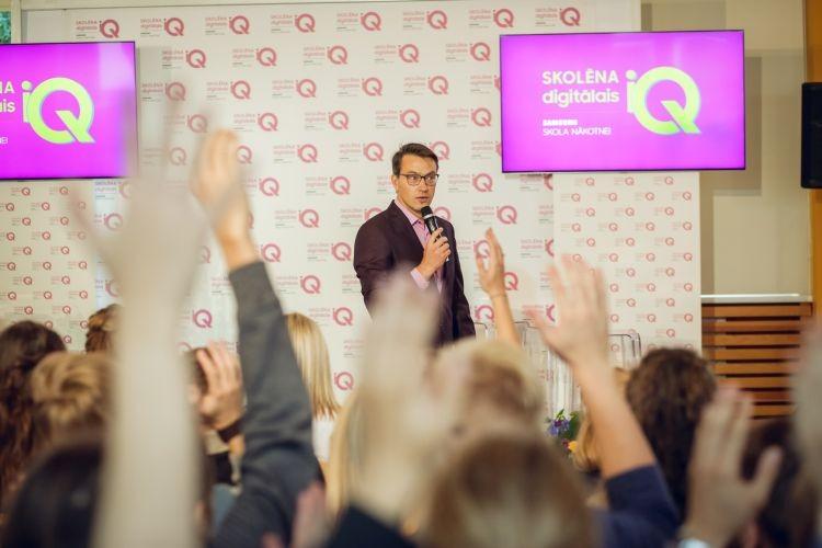 """Atklāta unikāla digitālo mācību platforma jauniešiem """"Skolēna digitālais IQ"""""""
